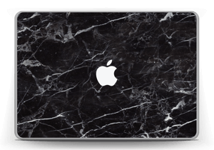 Svart Marmor Skin MacBook Pro 13
