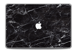 Svart Marmor Skin MacBook Pro 17
