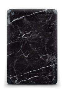 Svart Marmor Skin IPad mini 2 back
