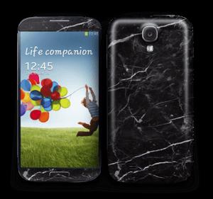 Svart Marmor Skin Galaxy S4