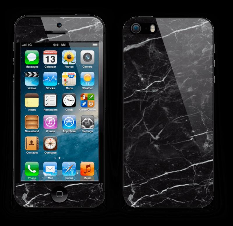 Svart Marmor Skin IPhone 5s