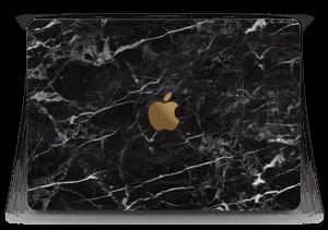 Svart Marmor Skin MacBook 12