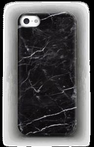 Svart Marmor deksel IPhone SE