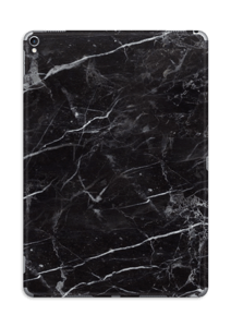 piel de marmol negro Vinilo
