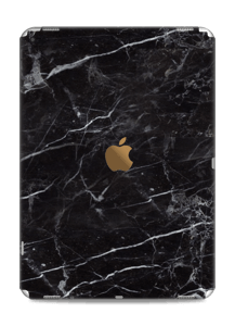 piel de marmol negro Vinilos