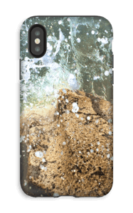 Vattenstänk design på ett skal för iPhone eller Samsung