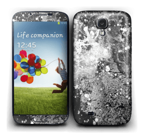 Black wild waters Skin Galaxy S4