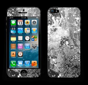 Sort vilt farvann Skin IPhone 5