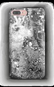 Musta villivedet kuoret IPhone 7 Plus