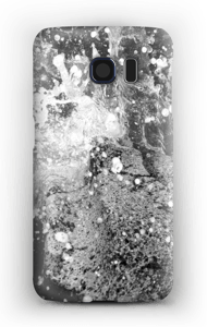 Musta villivedet kuoret Galaxy S6