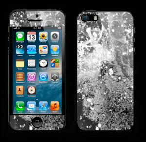Black wild waters Skin IPhone 5s
