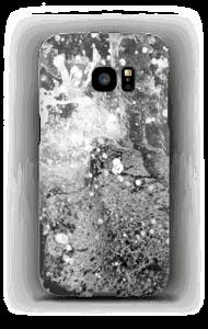 Black wild waters case Galaxy S7 Edge