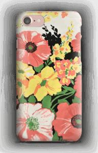 Retro blommor design skal