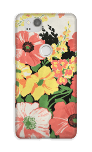 Flores vintage Capa Pixel 2