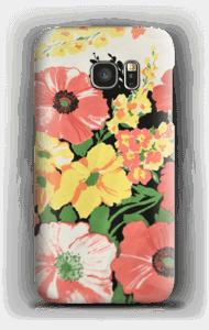 Flores vintage Capa Galaxy S7