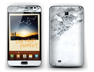 More marble Skin Galaxy Note