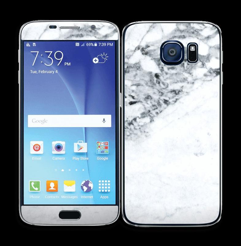 Mer marmor Skin Galaxy S6