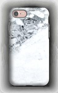 Mustavalkomarmori kuoret IPhone 7 tough