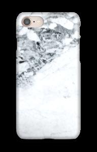 Mustavalkoinen marmori kuoret IPhone 8