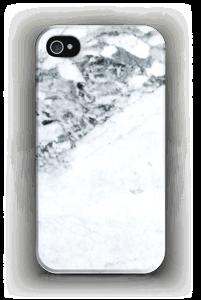 Mustavalkomarmori kuoret IPhone 4/4s