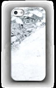 Mustavalkomarmori kuoret IPhone 5/5S