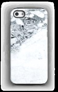 Mustavalkomarmori kuoret IPhone 5/5s tough