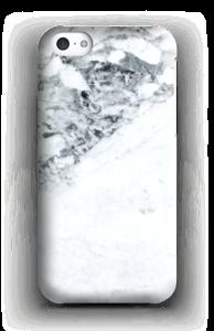 Mustavalkomarmori kuoret IPhone 5c