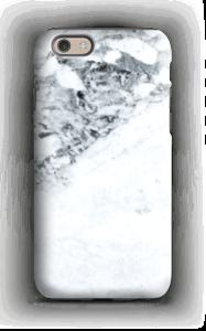 Mustavalkoinen marmori kuoret IPhone 6 tough