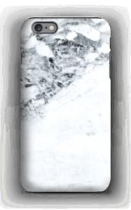 Mustavalkomarmori kuoret IPhone 6s Plus tough