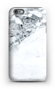 Mustavalkomarmori kuoret IPhone 6 Plus tough