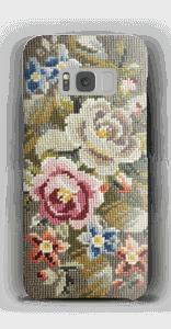 Handyhülle mit gestickten Blumen