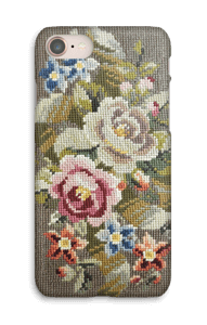 Flores bordadas Capa IPhone 8