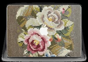 "Broderade blommor Skin MacBook Pro Retina 13"" 2015"