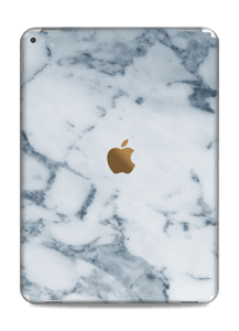 Vacker marmor med blåa nyanser