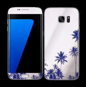 Sri Lankan Palm Trees Skin Galaxy S7 Edge