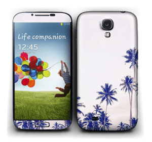 Sri Lankan Palm Trees Skin Galaxy S4