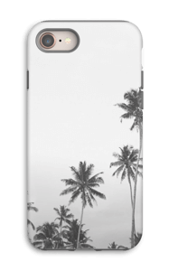 Black and White Tops case IPhone 8 tough