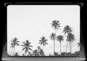 "Black and White Tops Skin MacBook Air 13"""