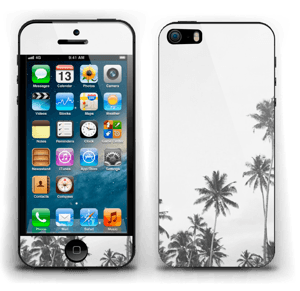 Black and White Tops Skin IPhone 5s
