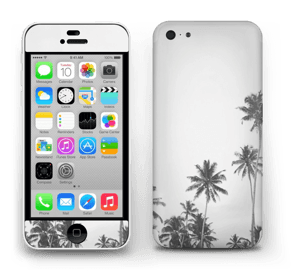 Black and White Tops Skin IPhone 5c