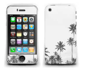 Black and White Tops Skin IPhone 3G/3GS
