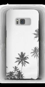 Mustavalkopalmut kuoret Galaxy S8