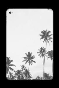 Black and White Tree Tops Skin IPad Mini 4