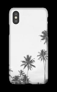 Mustavalkopalmut kuoret IPhone X