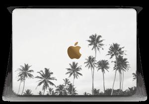 "Black and White Tree Tops Skin MacBook 12"""