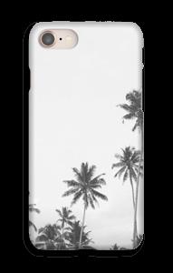 Sort og hvid palm toppe cover