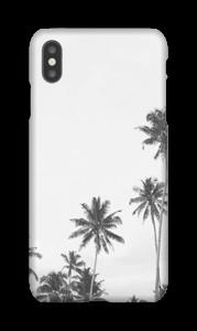 Svart-hvitt palm topper deksel