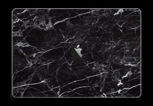 Marmo nero Skin MacBook Pro Touch Bar 15