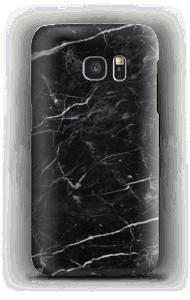 Marmo nero cover Galaxy S7