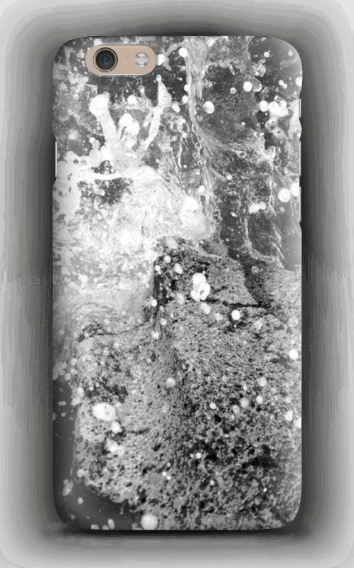 Spruzzi d'acqua in bianco e nero cover IPhone 6